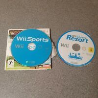 Nintendo Wii Sports And Wii Sport Resort Disc Only