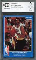 Artis Gilmore Card 1983 Star All-Star Game #17 San Antonio Spurs BGS BCCG 9