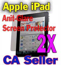 2X Anti-Glare Screen Protector Apple New iPad iPad2 iPad 2 iPad3 iPad 3