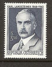 AUSTRIA # 813 MNH DISCOVERED THE FOUR BLOOD TYPES