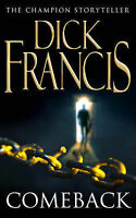 Comeback by Dick Francis, Good Used Book (Paperback) FREE & FAST Delivery!