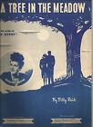 A Tree In The Meadow Billy Reid Sheet Music 1947