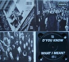 OASIS    ___    D`YOU KNOW WHAT I MEAN     ___   CD   ___   1997