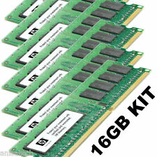 HP XW8200 16GB KIT PC2-3200 SINGLE RANK 343057-b21 1rx4 PC2-3200R | 8X 2GB DDR2