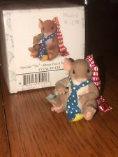 Charming Tails 💕~Special Tie Dings For A Special Dad~Retired~Adorable~New!