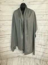 """OVS Women's Wrap Scarves Shawl Gray Color One Size 74""""x26"""""""