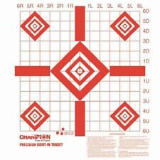 100 Pack Shooting Paper Targets Precision Sight-In Target Champion Hunting Range