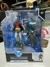 DC Multiverse McFarlane Robin Earth 22 Figure Dark Knights Metal Batman