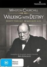 WINSTON CHURCHILL: WALKING WITH DESTINY Narrated By Ben Kingsley DVD NEW