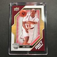 JAMES HARDEN 2009 UPPER DECK DRAFT #40 ROOKIE RC HOUSTON ROCKETS NBA MVP ON FIRE