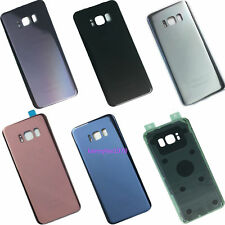 For Samsung Galaxy S8 G950F & S8 PLUS G955F Battery Back Rear Door Glass Cover