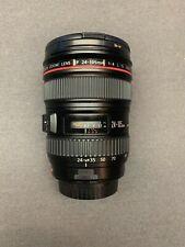 Canon EF 24-105mm Zoom Lens + Image Stabilizer + Lens Caps. Great Condition.