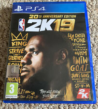 NBA 2K19 20th anniversary edition Playstation 4