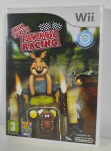 Calvin Tucker Farm Animal Racing Nintendo Wii Game Mint Condition Complete PAL