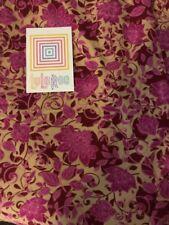 Lularoe TC Tall Curvy Leggings Tan Brown Purple Floral Unicorn Pants New 🦄