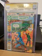 DC Comics Presents #26 (Signed by George Perez) DC CGC 8.5