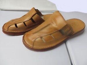 Herren Hausschuhe - Größe 40-46 - Echtleder - Latschen,Pantoffeln - JAH-99