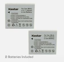 Kastar Battery NB-4L NB4L for Canon PowerShot TX1 ELPH SD450 SD780 SD1400 SD400