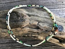 Elastic Wrap Surfer Friendship Bracelet or Necklace - vegan boho pura vida beach