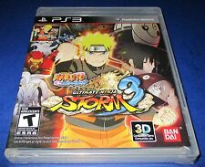 Naruto Shippuden: Ultimate Ninja Storm 3 PlayStation 3 *Black Label!  *New!