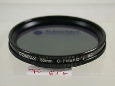 CONTAX Filtres polarisants Filtre Lens Polarizing Polarizer Circular 55 mm 55 e55 fi617 (5)