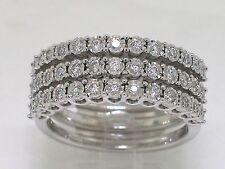 Brillant Ring Weißgold Gold 39 Brillanten total 0,50ct Wesselton