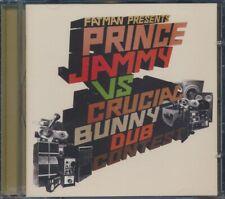 SEALED NEW CD Prince Jammy, Crucial Bunny - Fatman Presents Prince Jammy Vs. Cru