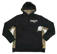 Dunbrooke Realtree New England Patriots NFL Licensed Camo Pullover Hoodie Large