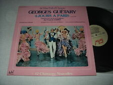 GEORGES GUETARY DOUBLE LP FRANCE BOURVIL BECAUD SIGNORET MONTAND COCTEAU