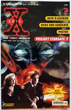 Akte X Files Das Comic Magazin 1998 / 02 Gillian Anderson David Duchovny +Poster