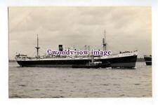 pf4827 - Clan Line Cargo Ship - Clan Mackinlay , built 1945 - photograph Feilden