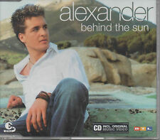 Alexander Klaws Behind The Sun Maxi CD NEU DSDS Gewinner inkl. Music Video