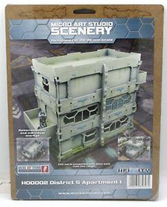 Micro Art Studio H00002 District 5 Apartment 1 (Scenery) Infinity Terrain Kit