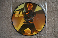 """Billy Idol Picture Disc 12"""" """"Eyes Without A Face"""" +2, Chrysalis (8V842791), EX"""
