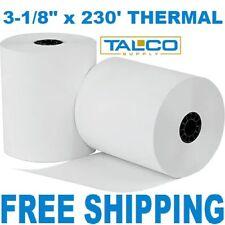 "(6) 3-1/8"" x 230' Bpa Free Thermal Paper Rolls (Star Tsp100) ~Free Shipping~"