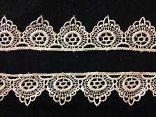 Vintage Chemical Lace Trim Edging Insert for Baby Bonnets Bedding  Home Decor