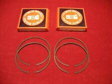 2 KAWASAKI 750SX 750 SX ST STS SXI SS XI RINGS .5MM 80.5MM BORE JET SKI JETSKI