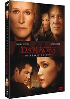 DAMAGES - INTÉGRALE SAISON 2 - GLENN CLOSE - 3 DVD SET - NEUF NEW NEU
