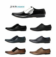 Mens Dress Smart Lace Up Shoes Office Wedding Formal Work Size 6 7 8 9 10 11 JAS