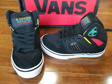NEW VANS ALLRED SKATEBOARD SHOES youth Boys 10.5 Black/Rasta