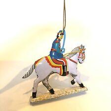 Tin Hanging Decoration, Cavalryman. Blechfabrik