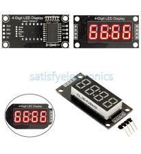 "Red/Blue/Green/White 4-Bits Digital LED TM1637 Clock Tube Display 0.36"" Inch NEW"