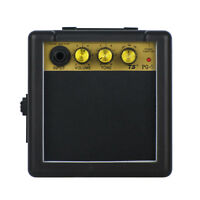 New 5W Mini Guitar Amplifier Speaker 9V DC Powered Micro Amp for Electric Guitar