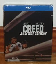 CREED THE LEYENDA ROCKY STEELBOOK BLU-RAY NEW SEALED (WITHOUT OPEN) R2