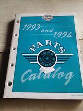 Harley Davidson Parts Catalog 1993 and 1994  oem 99450-94A