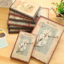 Retro PU Leather Weekly Planner Diary Journal Notebook calendar Christmas Gift