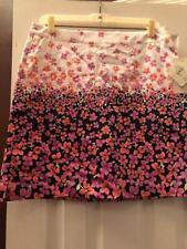 NWT Ladies EP PRO Navy Blue & Pink Floral Golf Skort - sizes 10 & 12 BLOOMSBURY