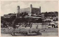 Bratislava Czechoslovakia Castle Scenic View Real Photo Antique Postcard J67069