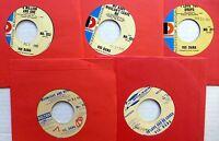 VIC DANA lot of 5 x 45rpm PROMOs Teen Pop 1960s  e5445
