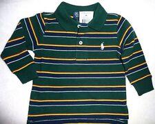 Gestreifte Ralph Lauren Langarm Jungen-T-Shirts, - Polos & -Hemden